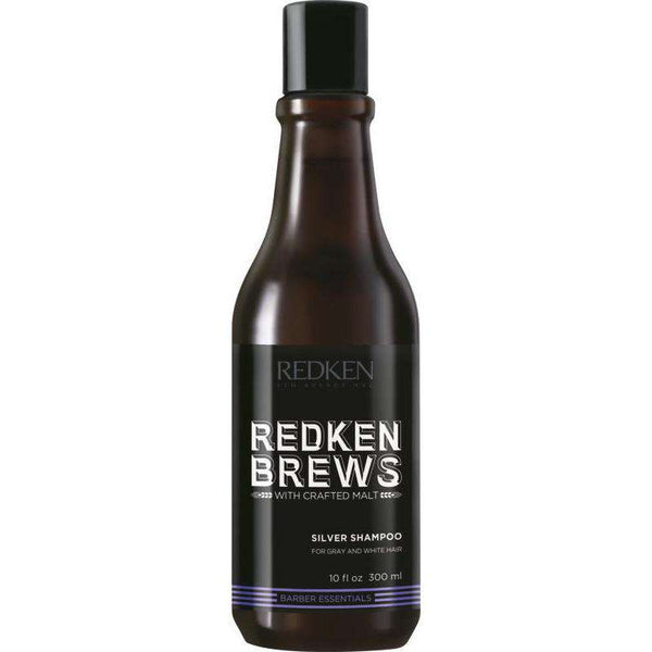 [headstart]:Redken Brews Silver Charge Shampoo 300ml
