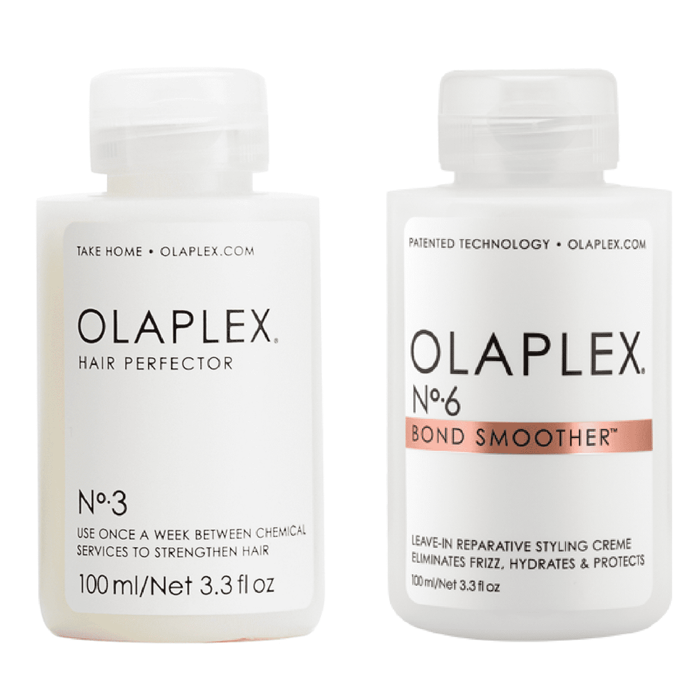 Olaplex No.3 Treatment & No.6 Bond Smoother Duo