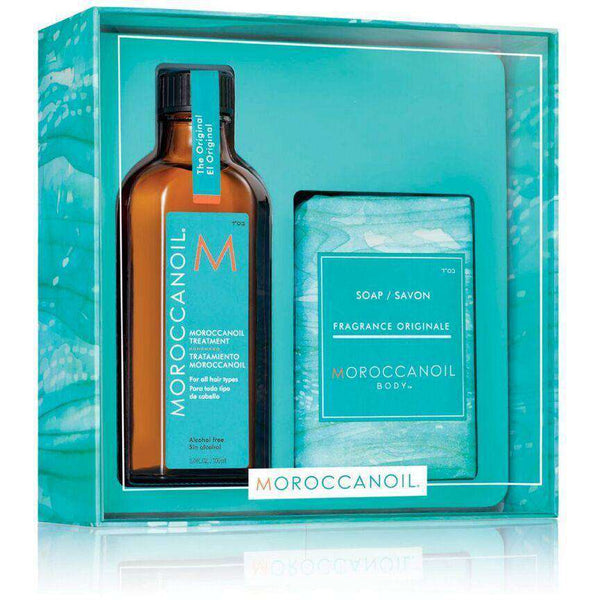 [headstart]:Moroccanoil Original Treatment and Soap Gift Set