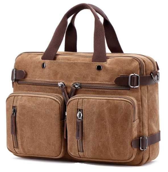 Premium Canvas Multi-Function Business Bag