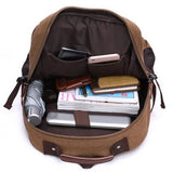 Premium Quality Large Canvas Backpack