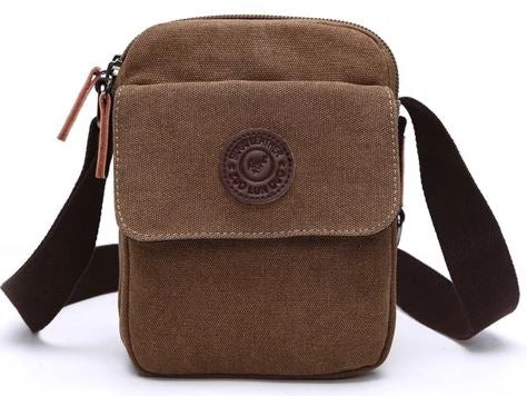 Small Canvas Sling Bag