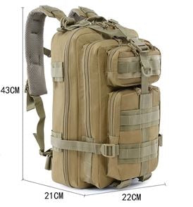 Premium Military Backpack (Medium Size Narrow Style)