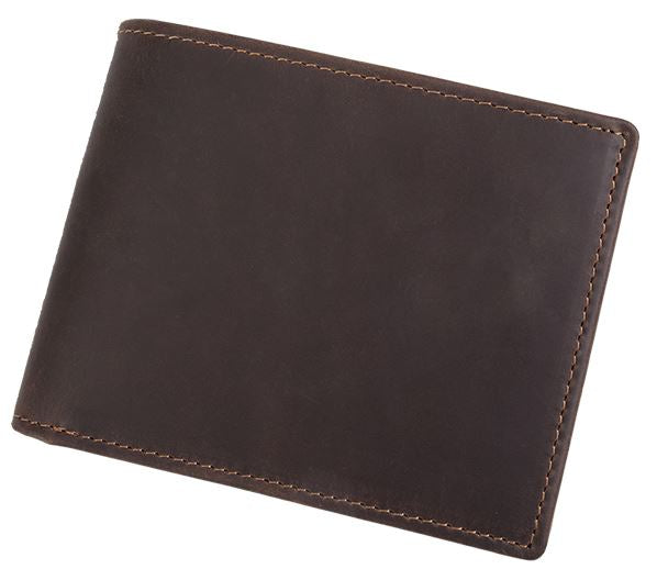 Mens Mid Size Genuine Leather Wallet