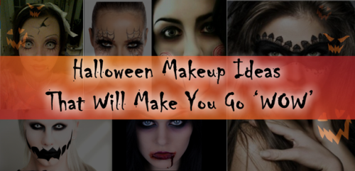These Halloween Makeup Ideas Will Make You Go 'WOW'