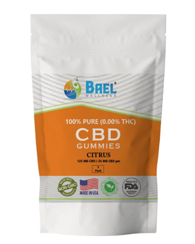 Bael Wellness CBD Gummies Citrus