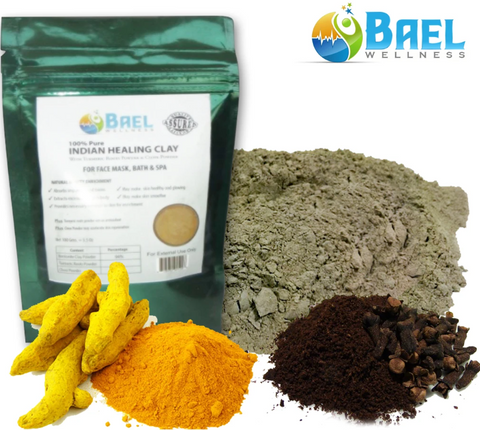 Bentonite Clay with Turmeric & Cloves Powder