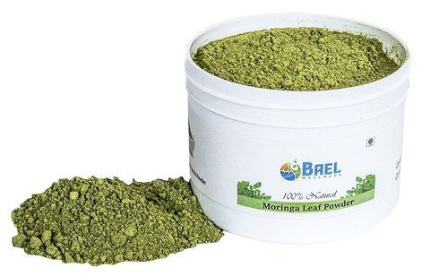Bael Wellness Moringa Leaf Powder.