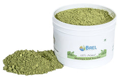 Bael Wellness Moringa Leaf Powder. Rich Source of Plant-based Protein, Iron, Vitamin A, E & K, Calcium & Iron. All Essential Amino Acid, High in Anti-oxidant.