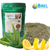 Bael Wellness Clay Mask Bentonite/Aloe Vera/Lemon Peel Powder