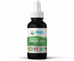 Hemp Oil (Mint) 500 mg. Naturally relieves pain, inflammation. Vegan & organic.