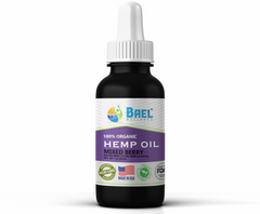 Hemp Oil (Mixed Berry) 500 mg. Vegan & organic.