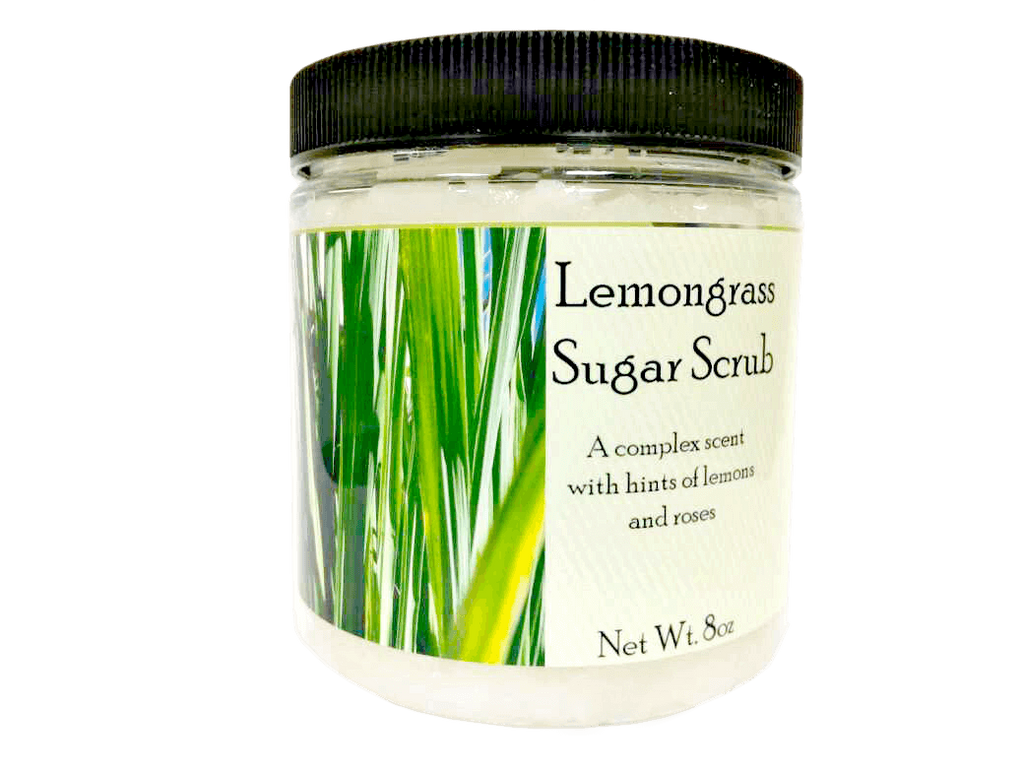 Lemongrass Sugar Scrub