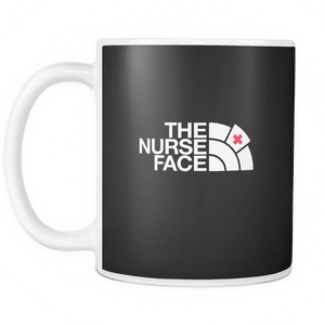 The Nurse Face Coffee Tea Mug White 11 oz