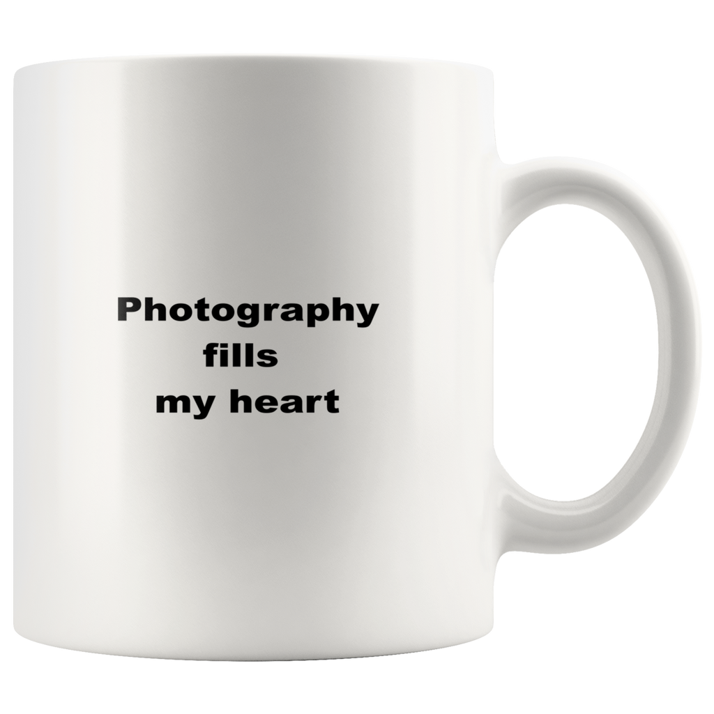 teelaunch 11oz White Mug wfgew Photography  Coffee Tea Mug White 11 oz