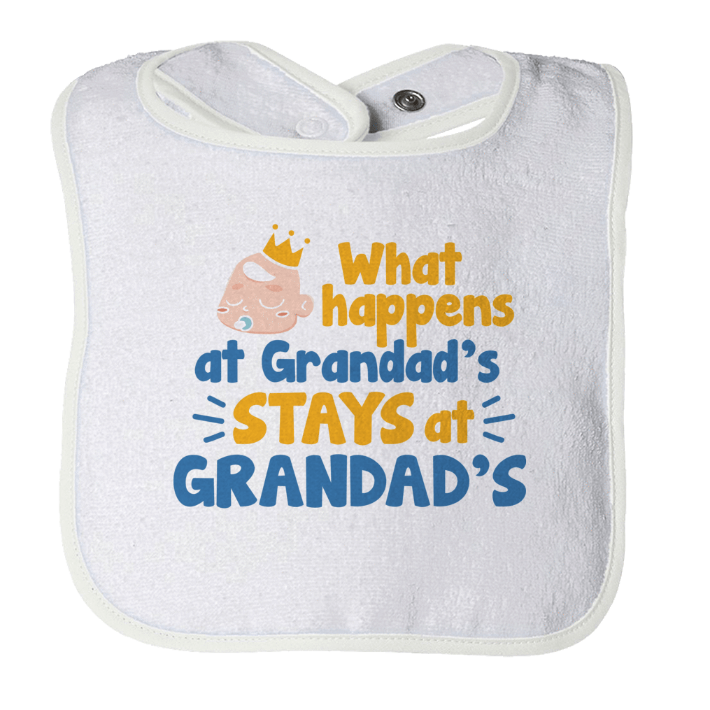 PT Bibs Bibs / White / O/S What Happens At Granddads