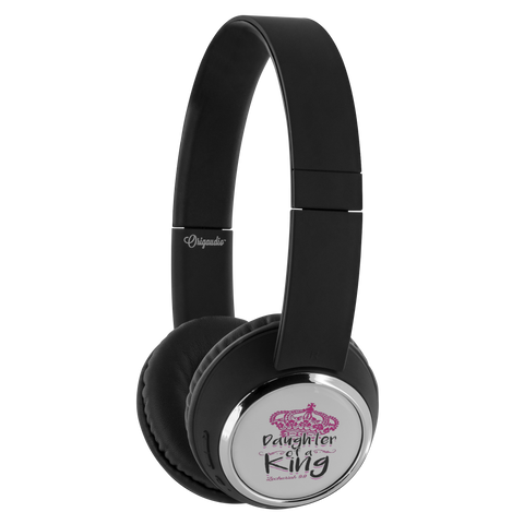 teelaunch Bluetooth Headphones Headphones Bluetooth Headphones - Daughter Of A King
