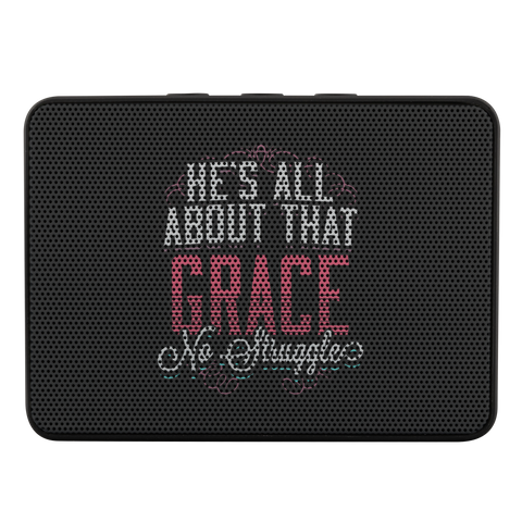 Image of teelaunch Bluetooth Speaker Bluetooth Speaker Bluetooth Speaker - All About That Grace