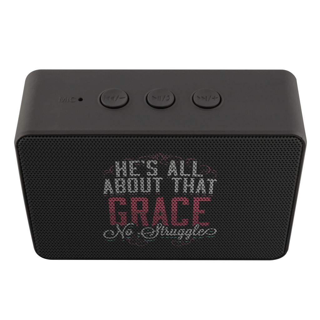 teelaunch Bluetooth Speaker Bluetooth Speaker Bluetooth Speaker - All About That Grace
