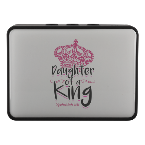 teelaunch Bluetooth Speaker Bluetooth Speaker Bluetooth Speaker - Daughter of A King