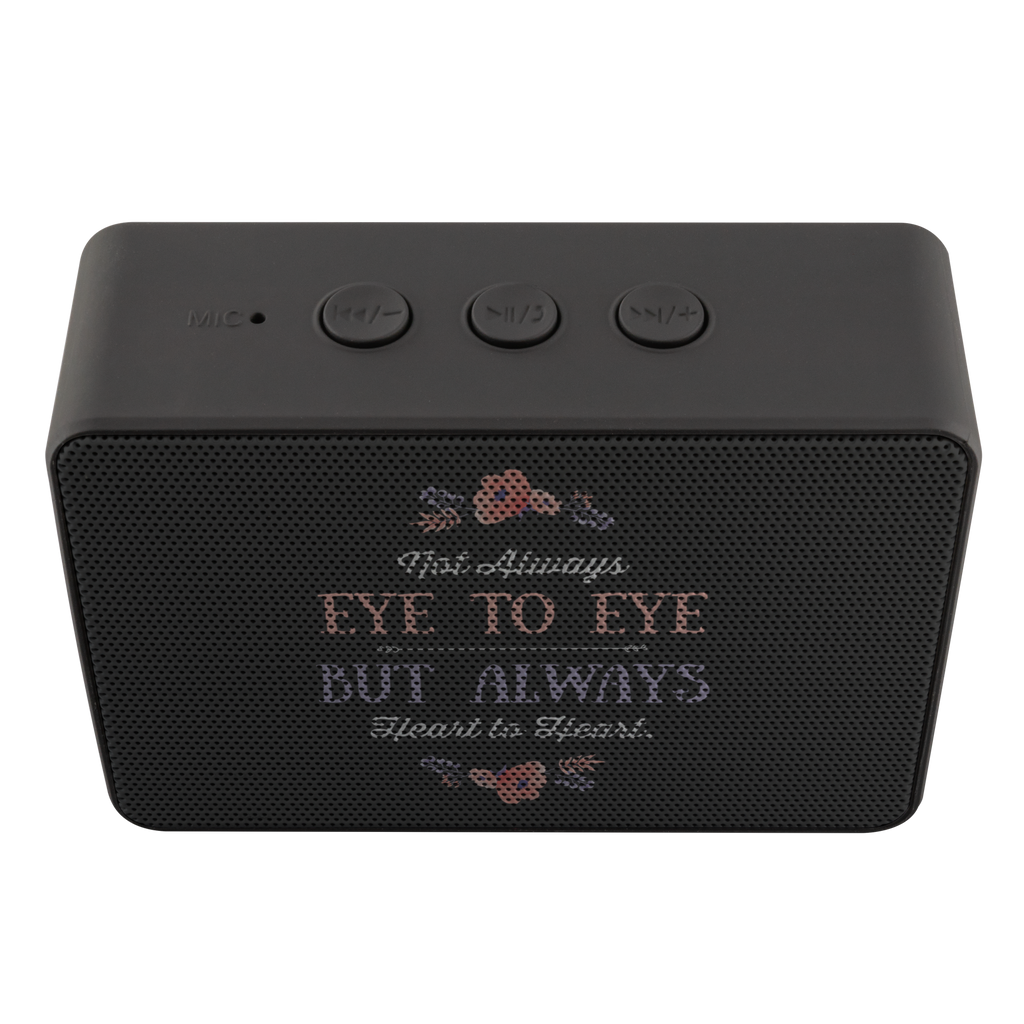 teelaunch Bluetooth Speaker Bluetooth Speaker Bluetooth Speaker - Eye To Eye