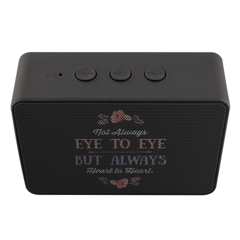 Image of teelaunch Bluetooth Speaker Bluetooth Speaker Bluetooth Speaker - Eye To Eye