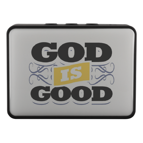 Image of teelaunch Bluetooth Speaker Bluetooth Speaker Bluetooth Speaker - God Is Good