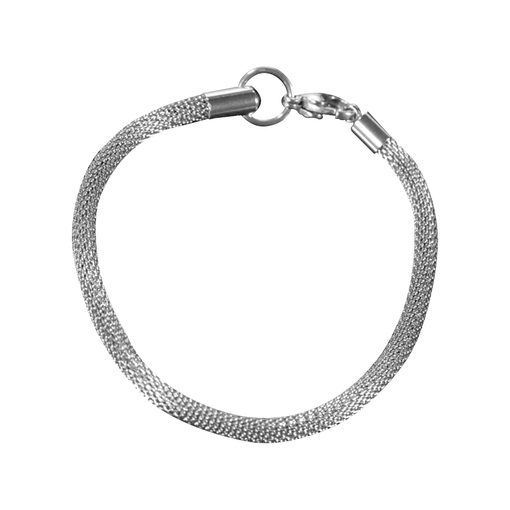 ShineOn Fulfillment Bracelets Steel S/M Luxury Bracelet Luxury Steel Mesh Bracelet Only