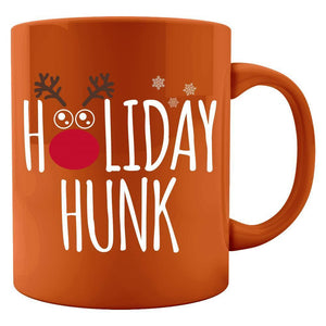 Holiday Hunk Christmas - Colored Mug