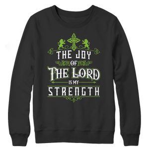 PT Crewneck Fleece Crewneck Fleece / Black / S The Joy Of The Lord (Crewneck Fleece)