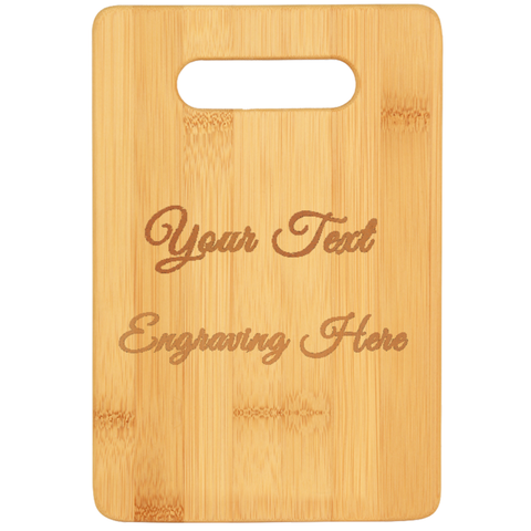 PrintTech Cutting Boards S / Bamboo Cutting Board Bamboo (Laser Engraved)