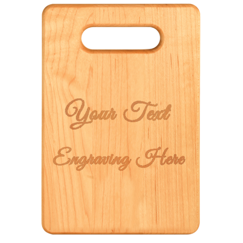 PrintTech Cutting Boards S / Maple Cutting Board Maple (Laser Engraved)