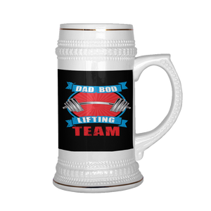 Dad Bod Lifting Team Beer Stein 22 oz