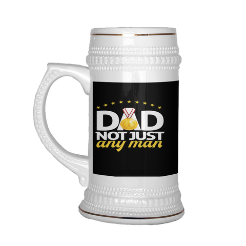teelaunch Drinkware Dadnotanyman Dad Not Just Any Man Beer Stein 22 oz