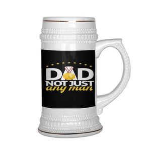 Dad Not Just Any Man Beer Stein 22 oz