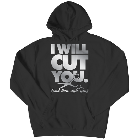 PT Hoodie Hoodie / Black / S Limited Edition - I Will Cut You (Hoodie)