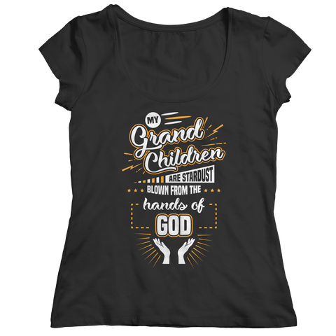 Image of PT Ladies Classic Shirt Ladies Classic Shirt / Black / S My Grandchildren (Ladies Classic)