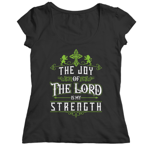 PT Ladies Classic Shirt Ladies Classic Shirt / Black / S The Joy Of The Lord (Ladies Classic)