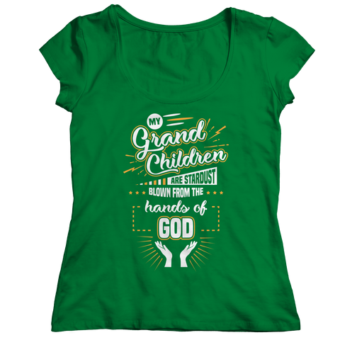 Image of PT Ladies Classic Shirt Ladies Classic Shirt / Kelly / S My Grandchildren (Ladies Classic)