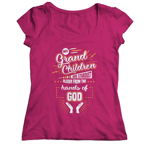 Image of PT Ladies Classic Shirt Ladies Classic Shirt / Pink / S My Grandchildren (Ladies Classic)