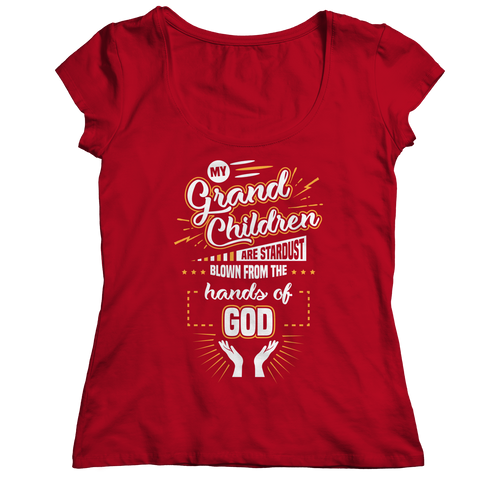 PT Ladies Classic Shirt Ladies Classic Shirt / Red / S My Grandchildren (Ladies Classic)