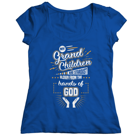 Image of PT Ladies Classic Shirt Ladies Classic Shirt / Royal / S My Grandchildren (Ladies Classic)