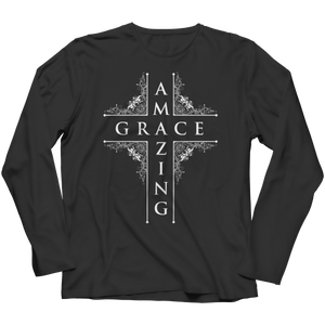 PT Long Sleeve Long Sleeve / Black / S Amazing Grace (Long Sleeve)