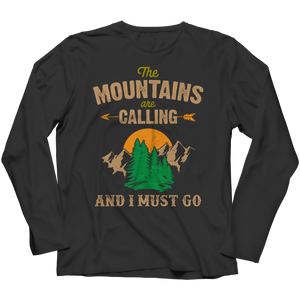 PT Long Sleeve Long Sleeve / Black / S The Mountains Are Calling (Long Sleeve)