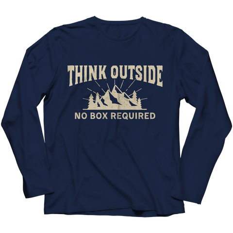Image of PT Long Sleeve Long Sleeve / Navy / S Think Outside (Long Sleeve)