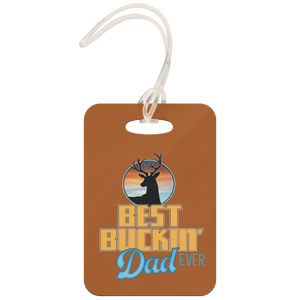 Best Buckin' Dad - Luggage Tag