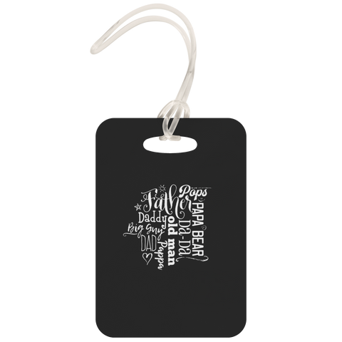 teelaunch Luggage Tags Luggage Tag Father Pops - Luggage Tag
