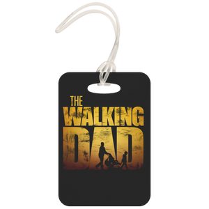 The Walking Dad - Luggage Tag