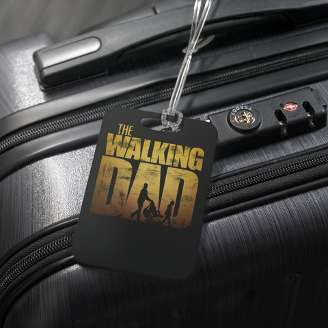 teelaunch Luggage Tags Luggage Tag The Walking Dad - Luggage Tag