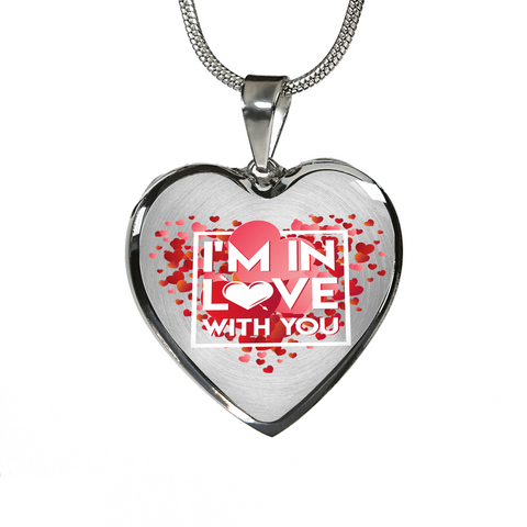 Image of ShineOn Fulfillment Necklaces Pendant Heart Luxury Steel Pendant Necklace - In Love With You (Heart)